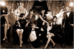 Twenties flappers
